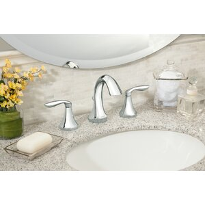 Eva Double Handle Widespread Bathroom Faucet