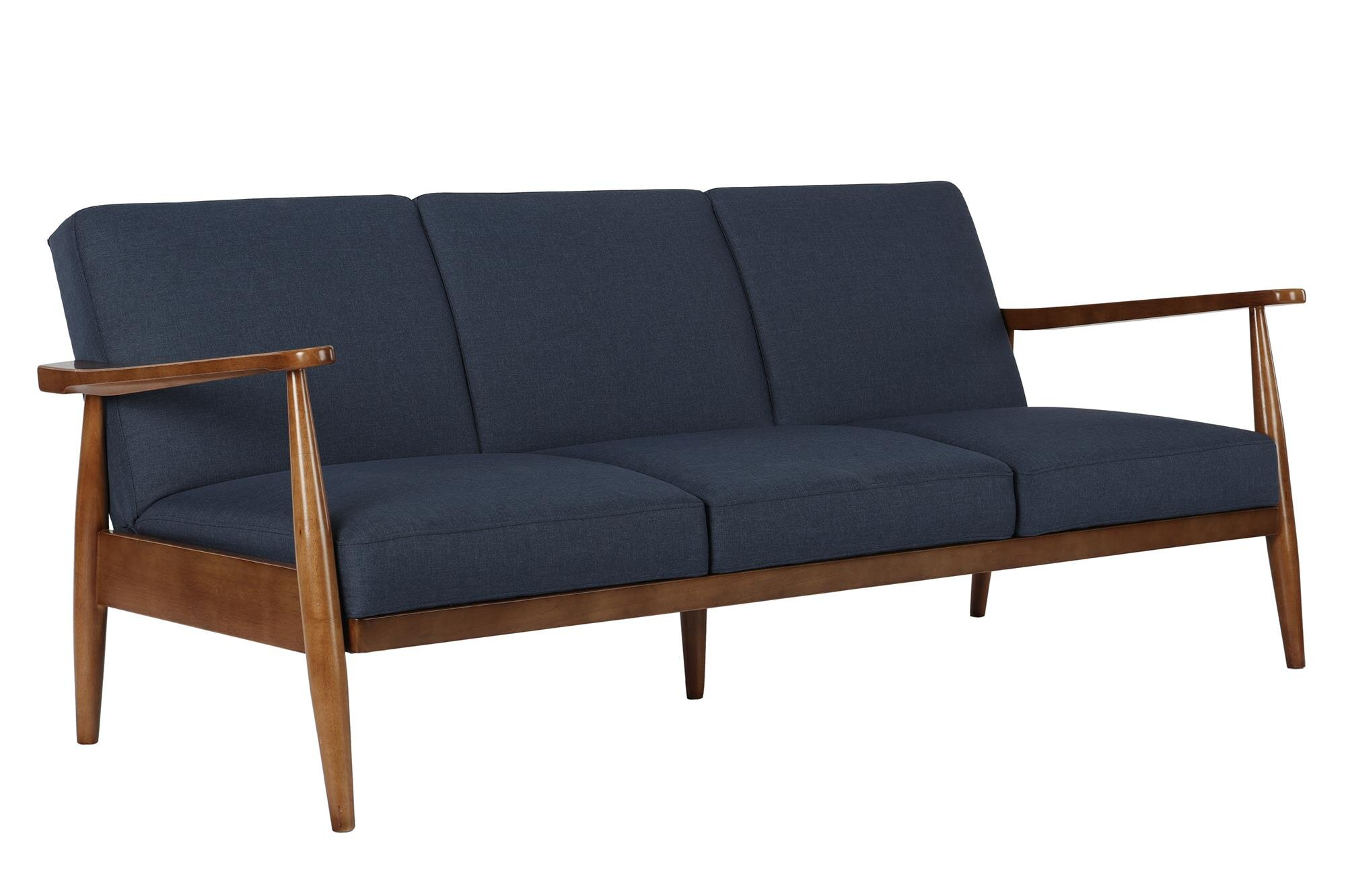 George Oliver Whelan Mid Century Modern Convertible Sofa & Reviews -