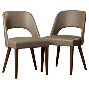 Josiah Genuine Leather Upholstered Dining..