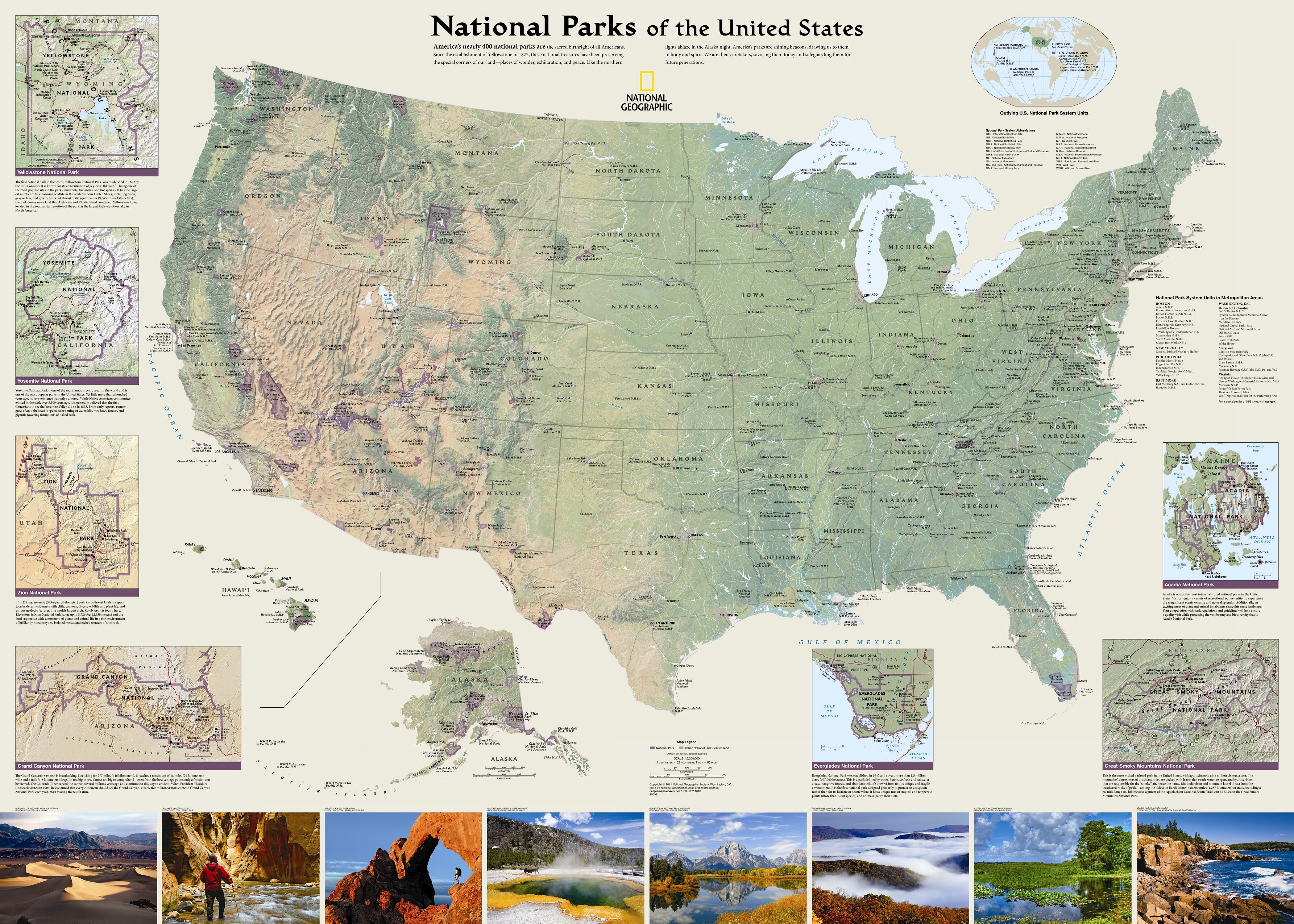 National Parks Map Of Usa.National Geographic Maps United States National Parks Wall Map Wayfair