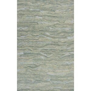 Bonaparte Hand-Tufted Seafoam Area Rug