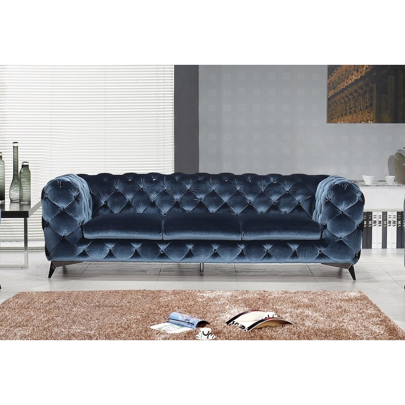 Vennie Upholstered Chesterfield Sofa