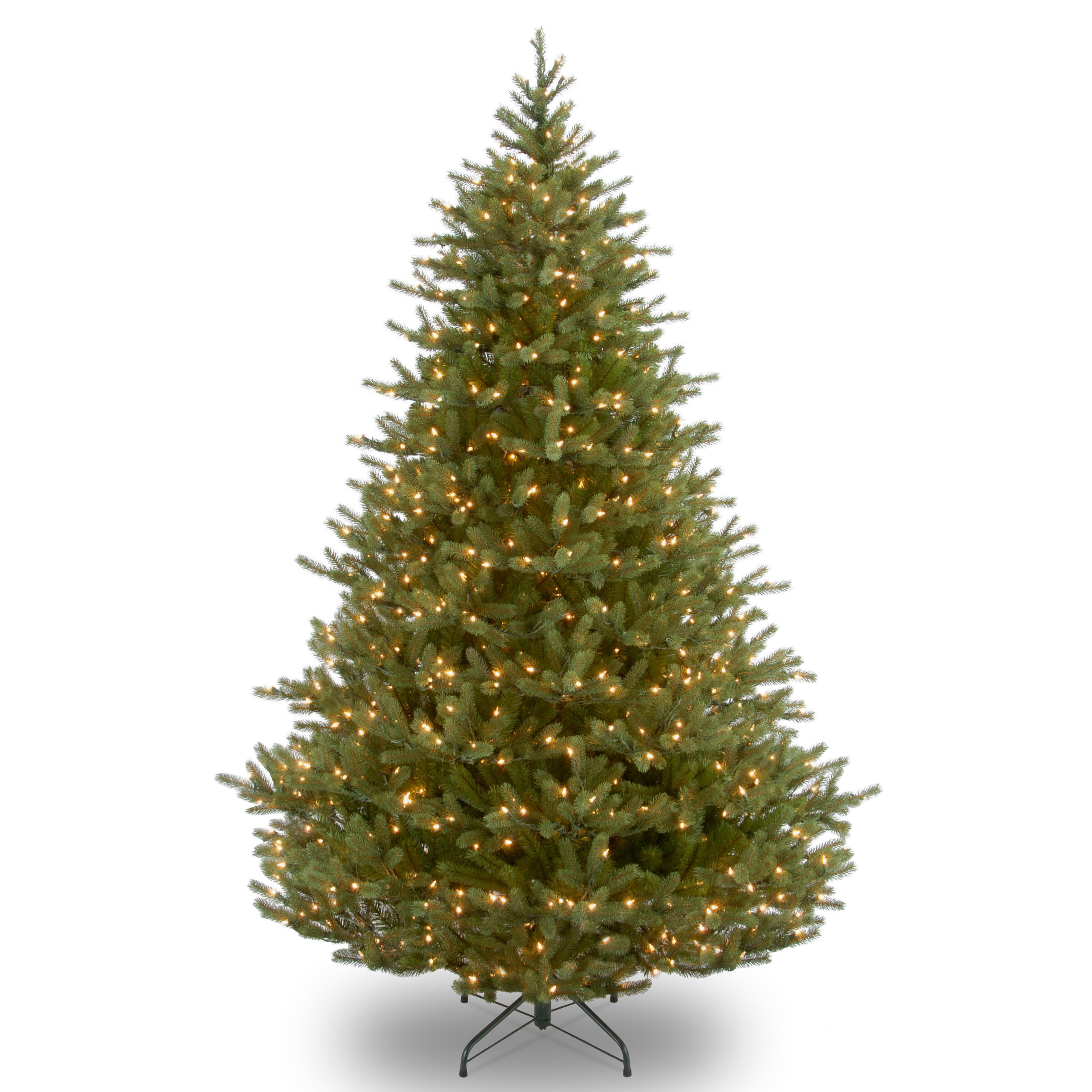 Darby Home Co Feel Real Norway 9\' Green Fir Trees Artificial ...