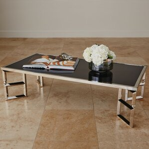 Beveled Leg Coffee Table by Global Views