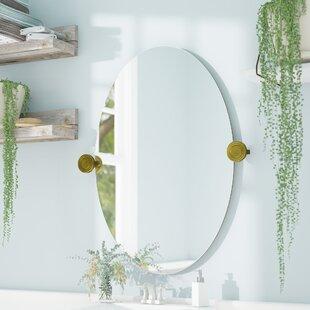 Oval Bathroom Mirrors Youu0027ll Love | Wayfair