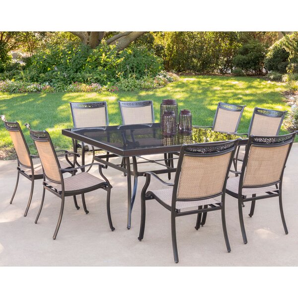 Hanover Fontana 9 Piece Dining Set | Wayfair