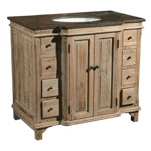 Rosalina 36 Single Reclaimed Pine Bathroom Vanity Set