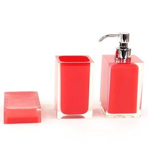 Red Bathroom Accessories Youll Love Wayfair - Red bathroom accessories sets