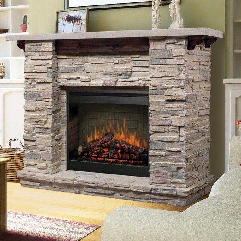 Dimplex Featherston Electric Fireplace & Reviews | Wayfair