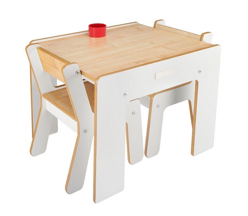 Little helper 3 tlg quadratisches kindertisch und stuhl set bewertungen - Kindertisch und stuhle set ...