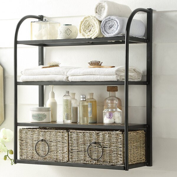 Laurel Foundry Modern Farmhouse Kiowa Hanging Storage Rack