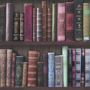 Book Shelf 33 X 20 5 Wallpaper Roll