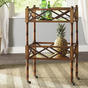 Madalene Mobile Bar Cart by Beachcrest Home