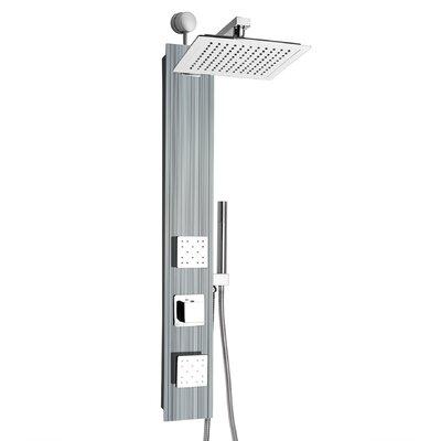 AKDY Rainfall Adjustable Head Shower Panel