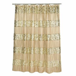 Latrobe Bath Bedazzled Bling Shower Curtain