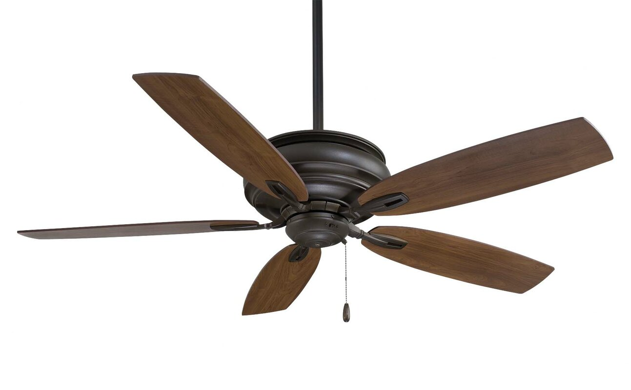Minka aire 54 timeless 5 blade ceiling fan reviews wayfair 54 timeless 5 blade ceiling fan mozeypictures Image collections