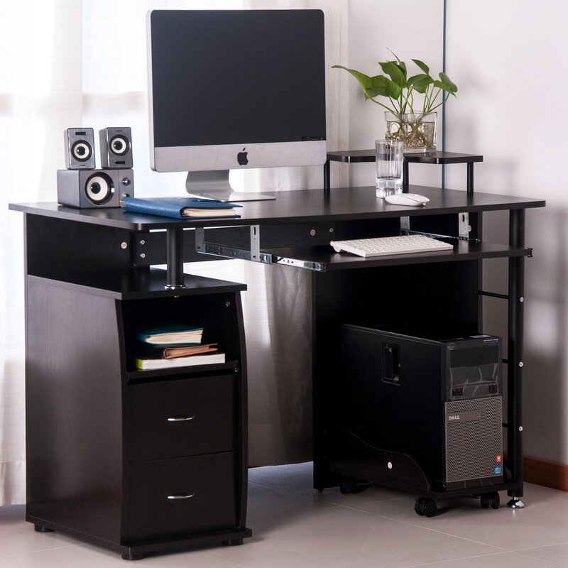 Merax Computer Desk & Reviews   Wayfair