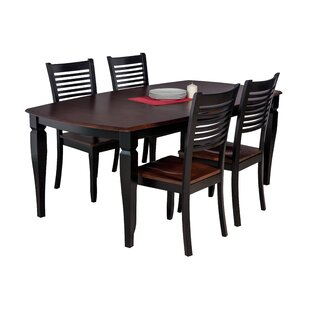 Besse Traditional 5 Piece Solid Wood Dining Set New Design