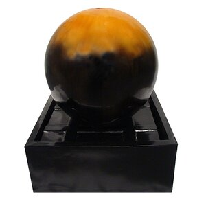 Resin Ball Outdoor Garden Water Fountain