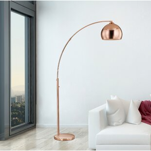 Copper floor lamps youll love save aloadofball Choice Image