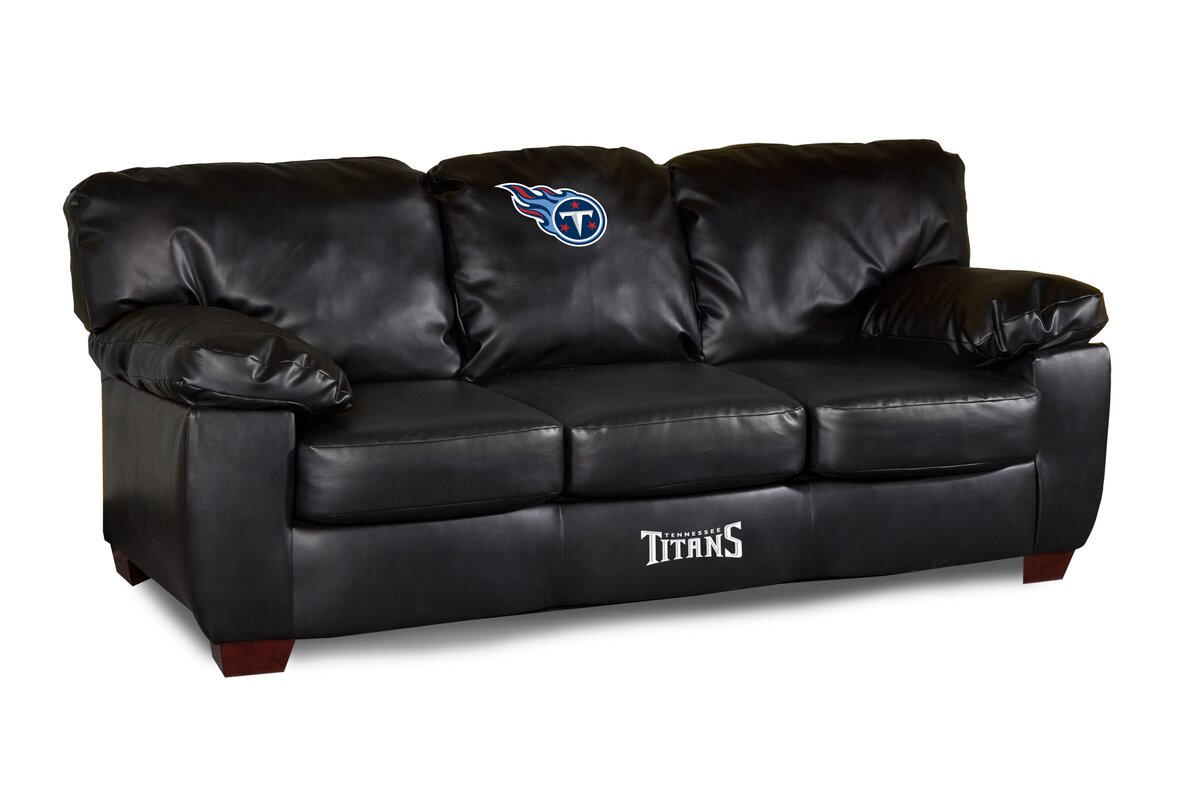 ... Sofa For Tall Person By Imperial Nfl Classic Leather Sofa U0026 Reviews  Wayfair ...