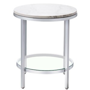 Blanco End Table by Wade Logan