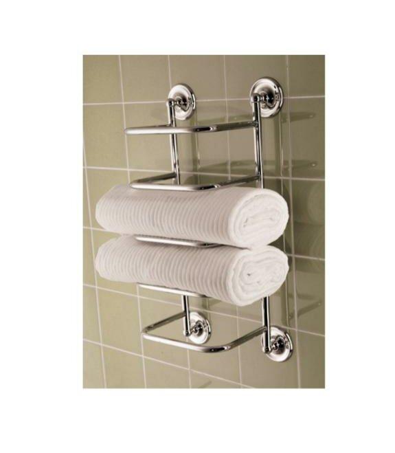 Chrome Towel Rack Wall Mounted Part - 50: Wall Mounted Towel Rack