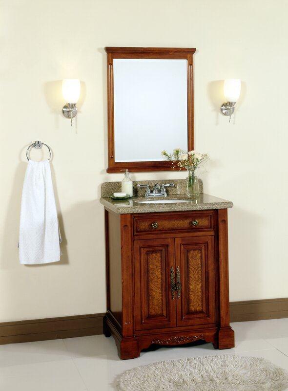 28 Single Bathroom Vanity Set With Mirror