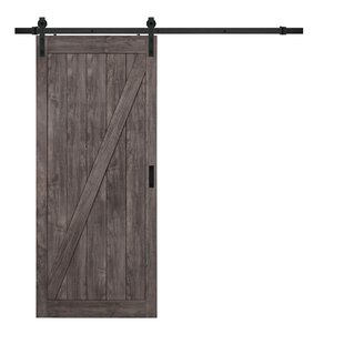 Cheval Ironage Solid MDF Panelled Slab Interior Barn Door