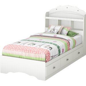 Tiara Twin Mate's Bed with Storage and Headboard