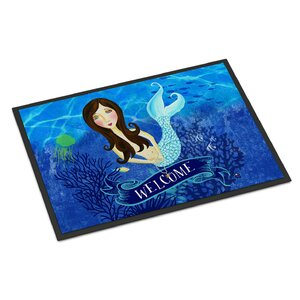 Welcome Mermaid Doormat