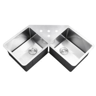 Corner Kitchen Sinks You\'ll Love | Wayfair