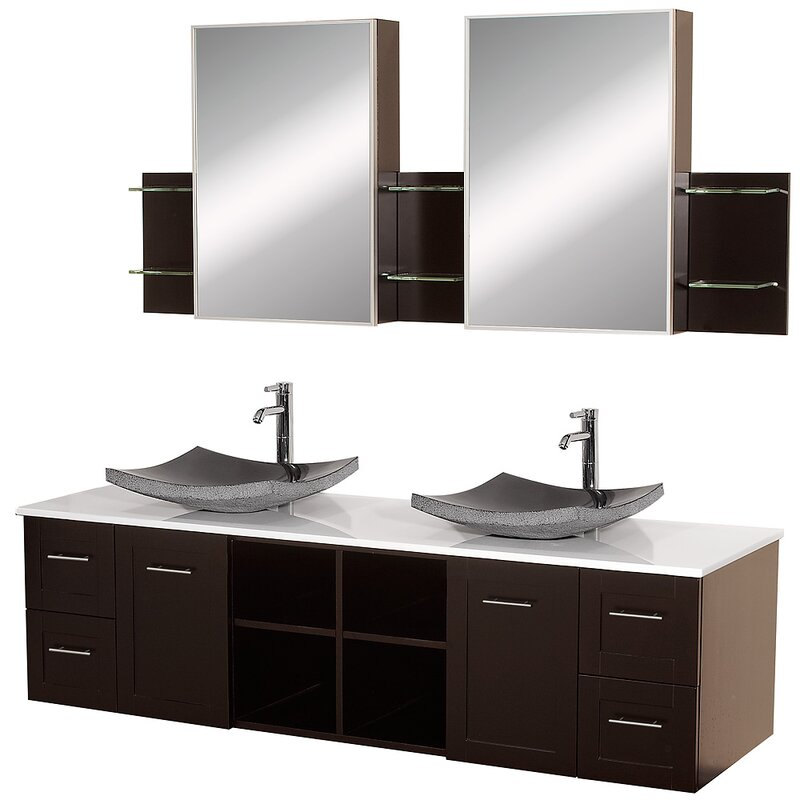 today product garden double vanity shipping collection bathroom inch wyndham mirror overstock with home deborah no free