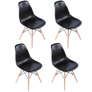 Bailee Mid Century Modern Retro Dining Chair (Set of 4) by Corrigan Studio