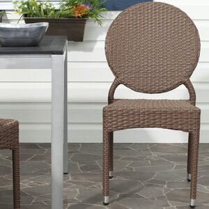 Valdez Stacking Patio Dining Chair (Set of 2)