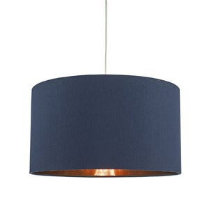 Ceiling lamp shades wayfair timon 40cm silk drum pendant shade aloadofball Image collections