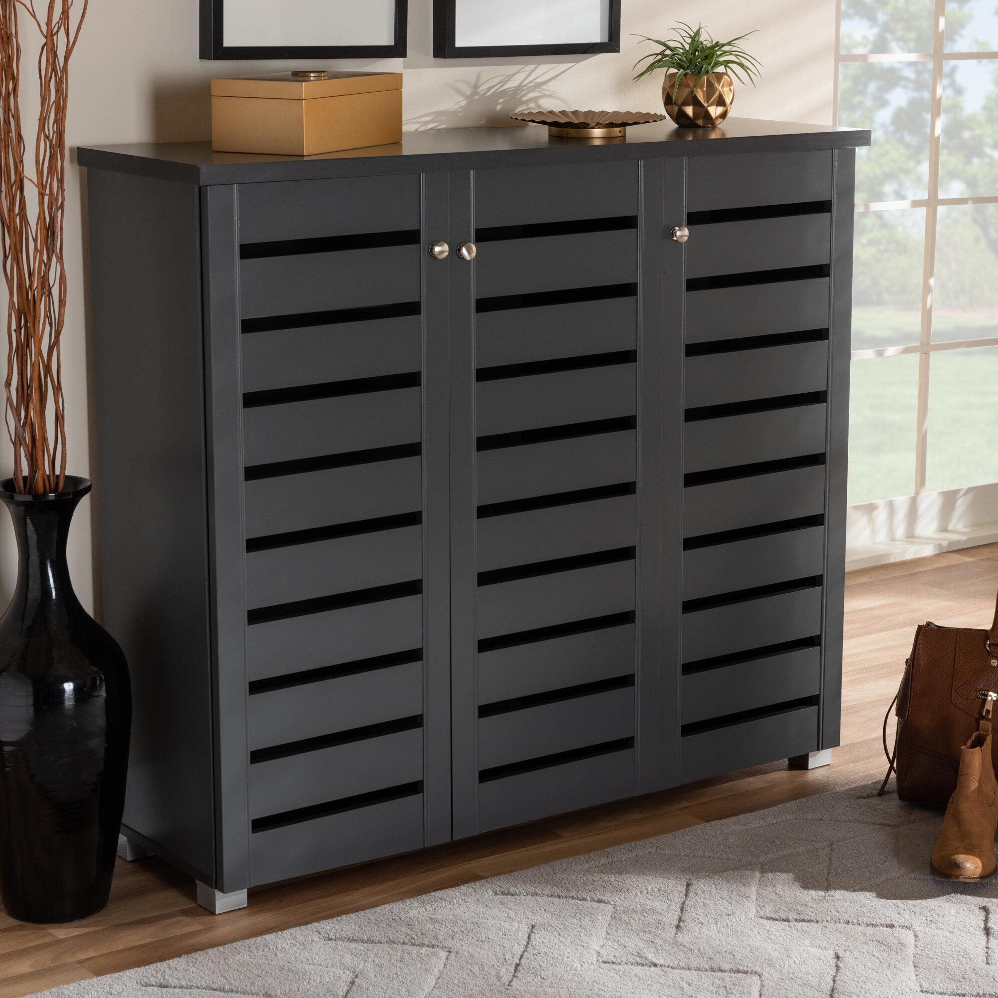 Delicieux Rebrilliant Entryway 20 Pair Shoe Storage Cabinet | Wayfair