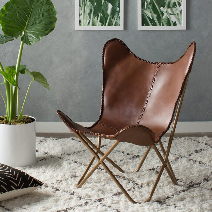 Attractive Justa Leather Lounge Chair