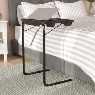 Bedside computer table wayfair portable and foldable bedside end table watchthetrailerfo