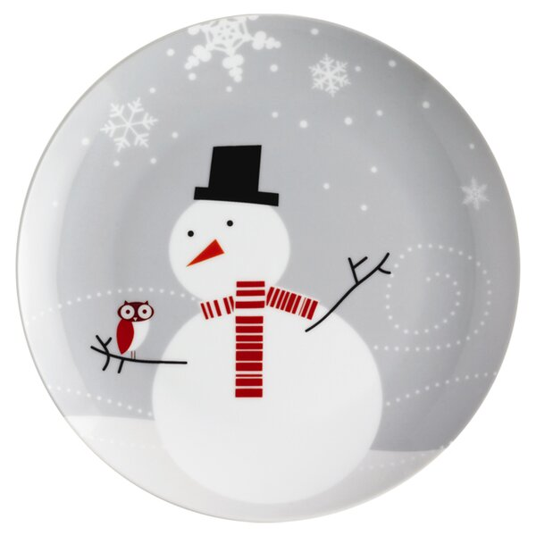 christmas and holiday plates youll love wayfair - Decorative Christmas Plates