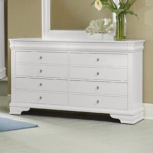 Hewitt 6 Drawer Dresser by Three Posts