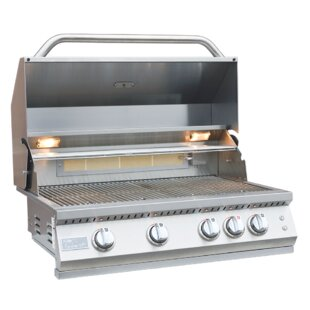 Professional Bbq 4 Burner Built In Convertible Gas Grill