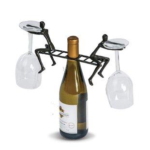 Chestertown Ladderman Cast Iron Tabletop Wine Glass Rack