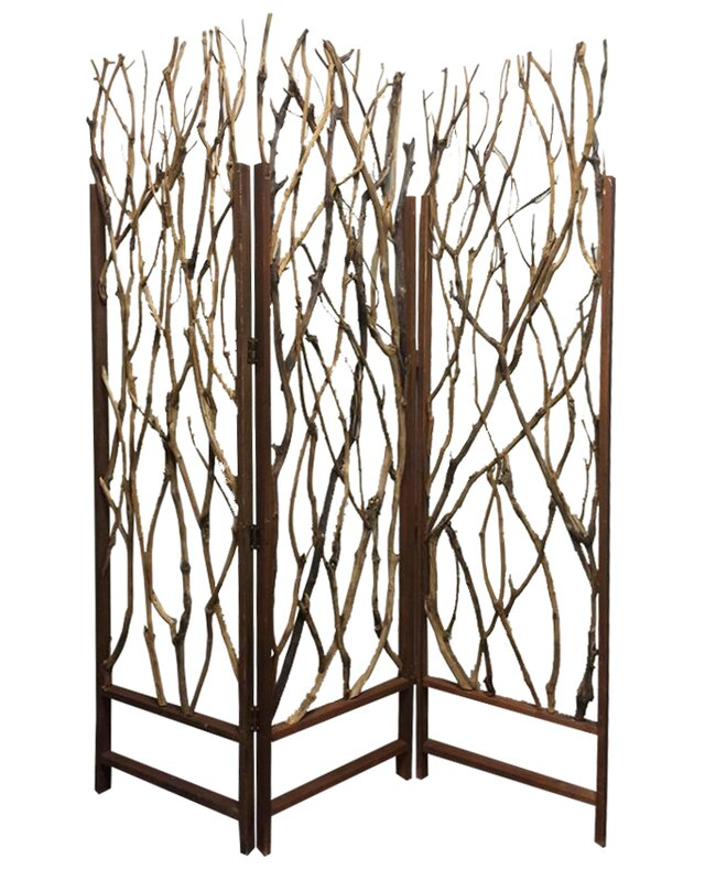 Tree Screen 3 Panel Room Divider