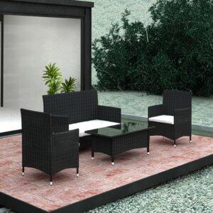4-Sitzer Sofa-Set mit Kissen von Home Etc