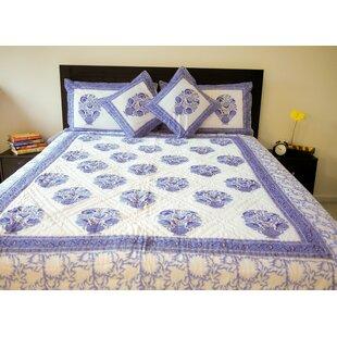 Slate Blue Quilt Wayfair