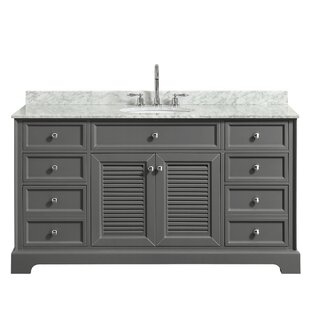 Tamara 60 Single Dark Gray Bathroom Vanity Set