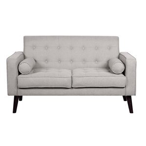 cleo linen tufted loveseat - Cheap Couches For Sale Under 100