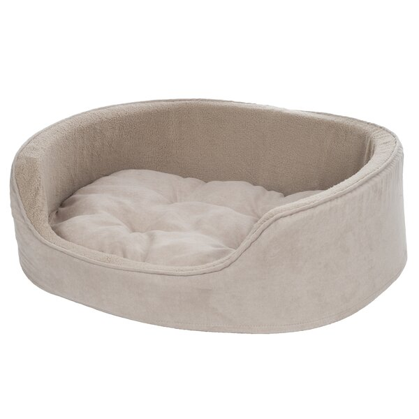Paw Cuddle Round Suede Terry Nest Bolster Amp Reviews Wayfair