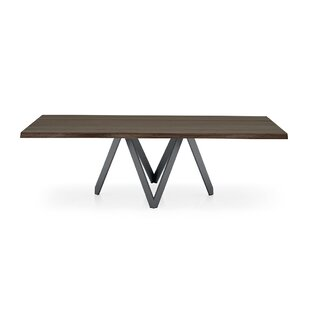 Cartesio - Table (Irregular Sculpted Edge) - Matt Gray Metal Legs